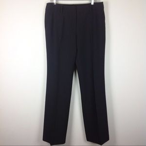 Trina Turk Black Dress Pants Bootcut Sz 10 L Long